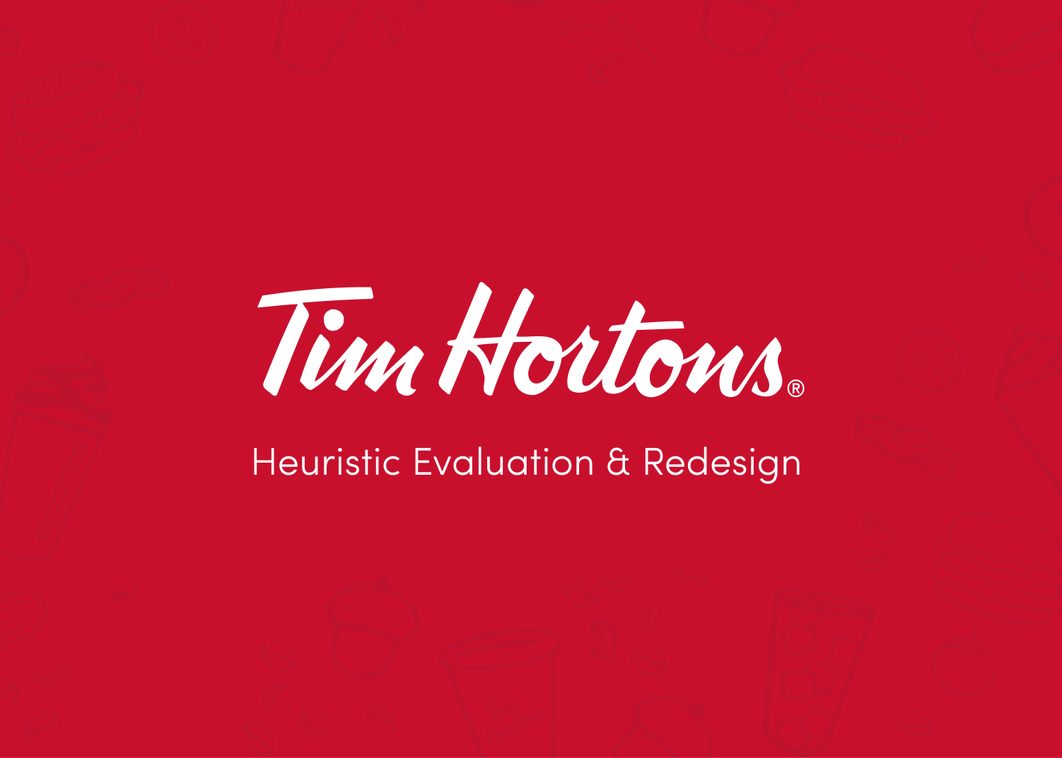 Tim Hortons App Redesign
